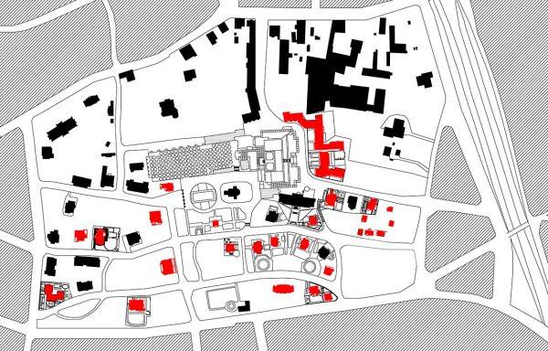 Grundrisse der Wohnhäuser auf der Mathildenhöhe | Darmstadt