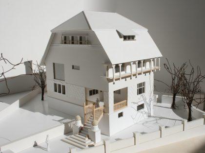 Bauaufnahme vom Haus Olbrich | Darmstadt