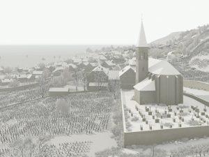 Historisches Laubenheim in <span class=