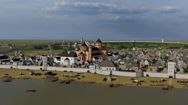 Mainz – Worms – Speyer. Drei mittelalterliche Städte im Zentrum Europas als Linked Data
